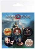 Placka God Of War Set 6 placek