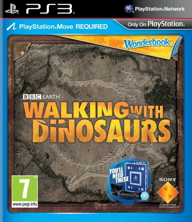 Wonderbook: Walking With Dinosaurs PS3