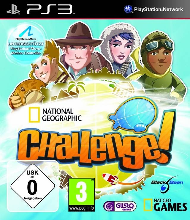National Geographic Challenge! PS3