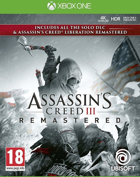 Assassin's Creed III Remastered XONE