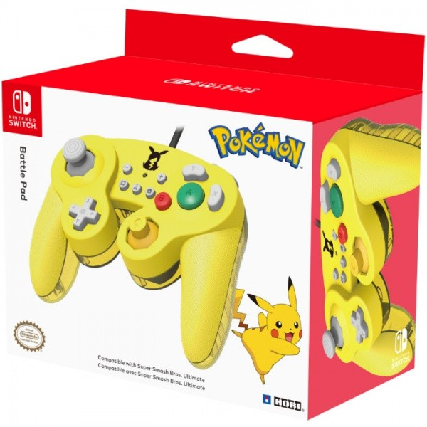 SWITCH GameCube Style BattlePad - Pikachu