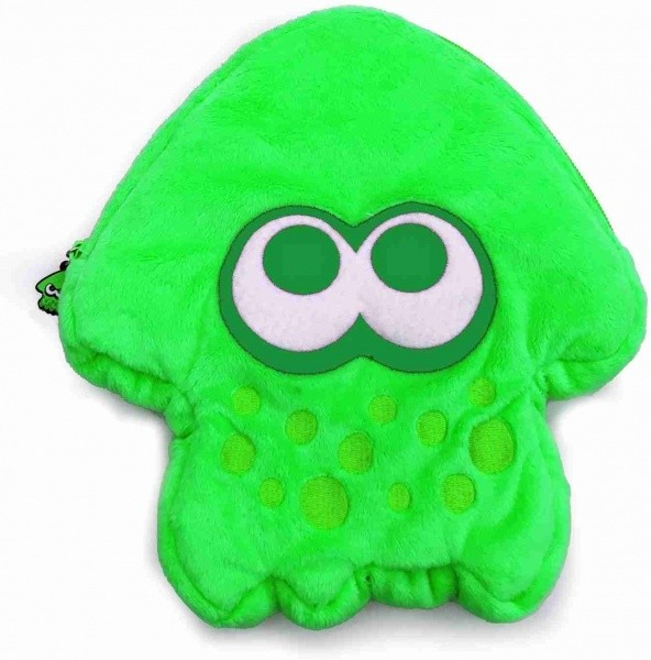 Splatoon 2 Plush Pouch for Nintendo Switch (Green