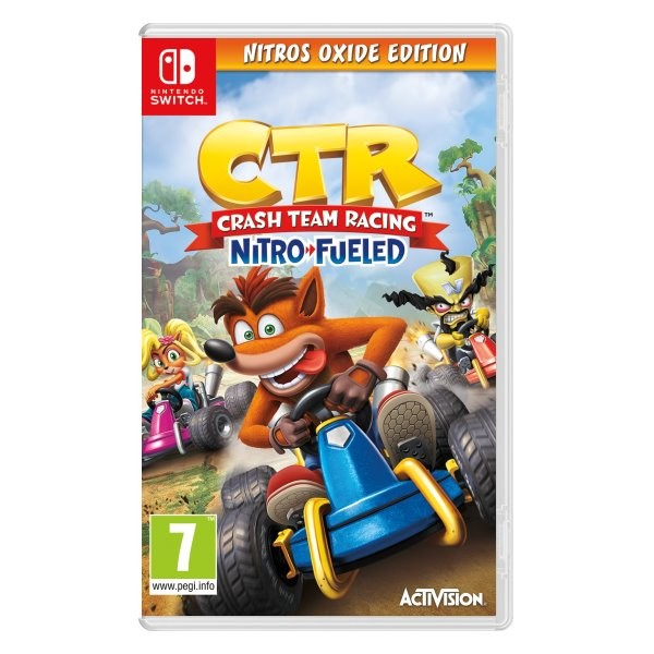 SWITCH Crash Team Racing Nitro-Fueled Nitros Oxide