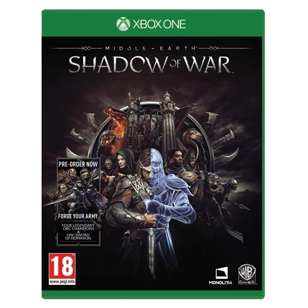 Middle-Earth: Shadow of War XONE