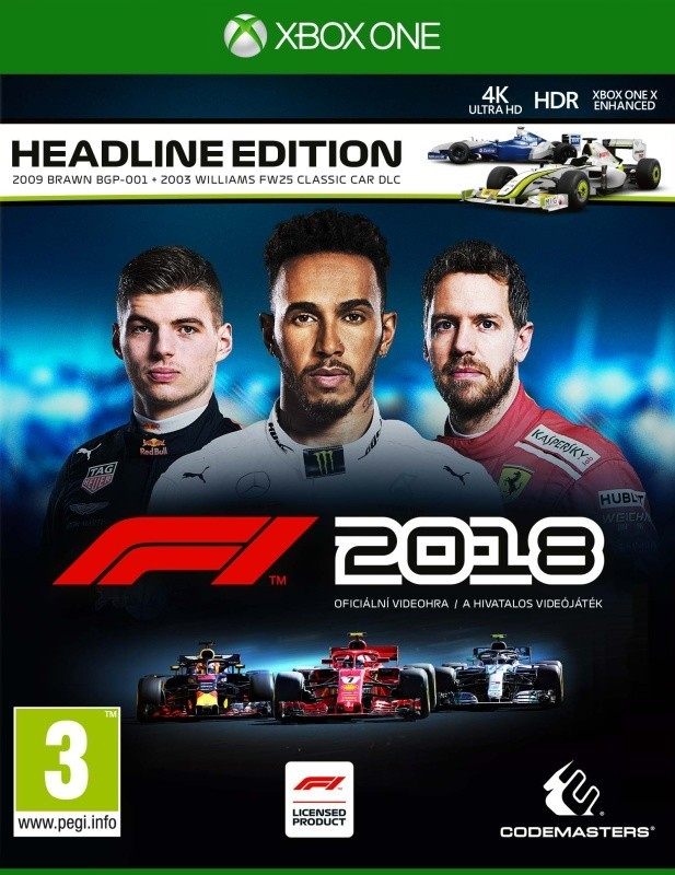 F1 2018 (Headline Edition) XONE