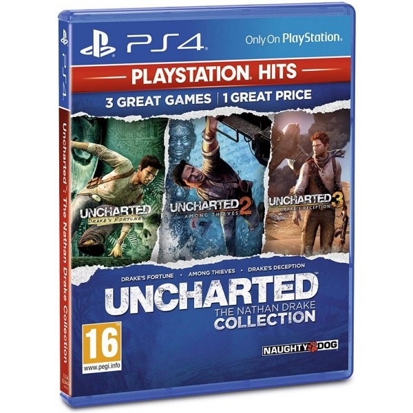 Uncharted: The Nathan Drake Collection HITS PS4