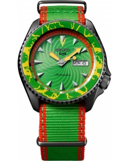 Seiko 5 Sports Street Fighter V Limited Edition BLANKA - Call Of The Wild SRPF23