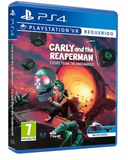 Carly and the Reaper Man PS4