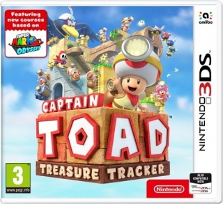 3DS Captain Toad: Treasure Tracker