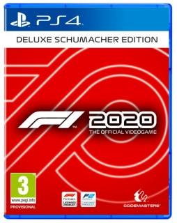 F1 2020 Michael Schumacher Deluxe Edition PS4