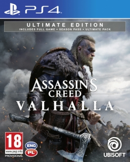 Assassin's Creed Valhalla Ultimate Ed. PS4