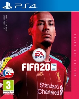 FIFA 20 Champions Edition (PS4) CZ