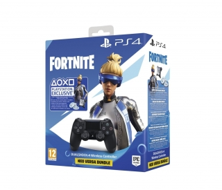 Sony PS4 Dualshock 4 V2 černý + voucher do Fortnite