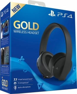 Sony PS4 Gold Wireless Stereo Headset