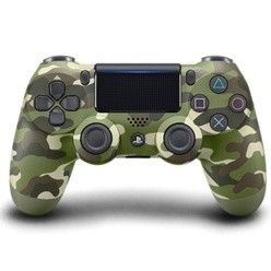 DualShock 4 Wireless Cont. V2 Green Camouflage PS4