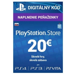 PlayStation Live Cards 20 EUR Hang SK