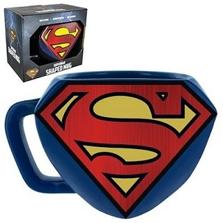 DC Superman Shaped Mug
