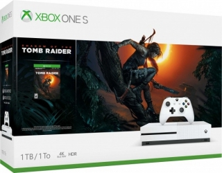 XBOX ONE S 1 TB + Shadow of Tomb Raider