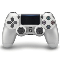 Sony Dualshock 4 Controller V2 Silver PS4